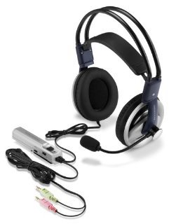 Altec Lansing 3 D Audio Gaming Headset AHS615 Over the head