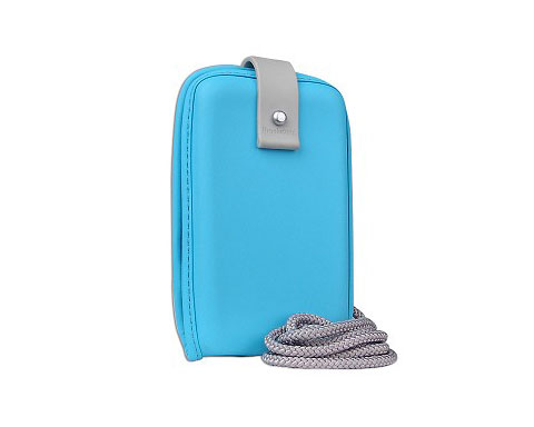 Brookstone Universal Mini MP3 Case - Blue