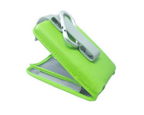 Brookstone Universal Mini MP3 Case - Green