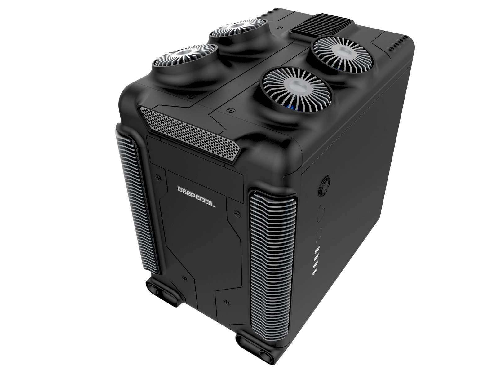 DEEPCOOL STEAM CASTLE M (BLACK) MATX / ITX Unique Steam Punk Sty