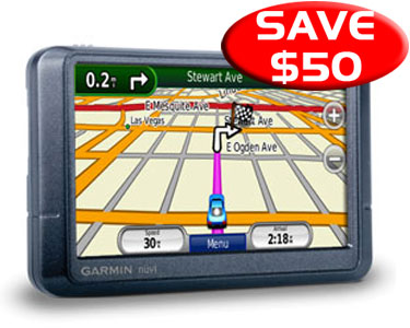 "z sold out Garmin NuVi 255W - 4.3"" GPS Voice prompts, Speaks str"