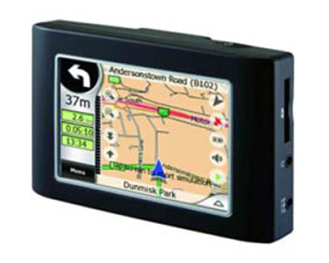 z sold out MyGuide PND 3.5 Screen GPS Navigation System, i2150