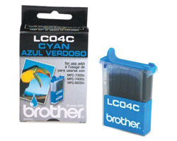 Brother LC04C Cyan Ink Cartridge for MFC-7300C 7400C 9200C