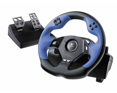 Logitech Driving Force EX -  PC & Playstation 2 & 3