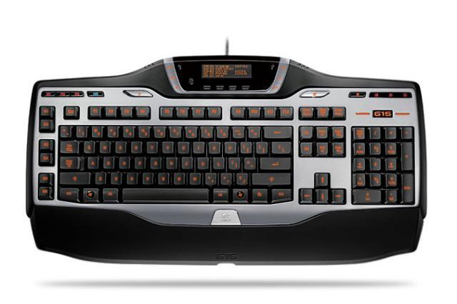 Logitech� G15 Gaming Keyboard - USB - GamePanel LCD, Illuminate