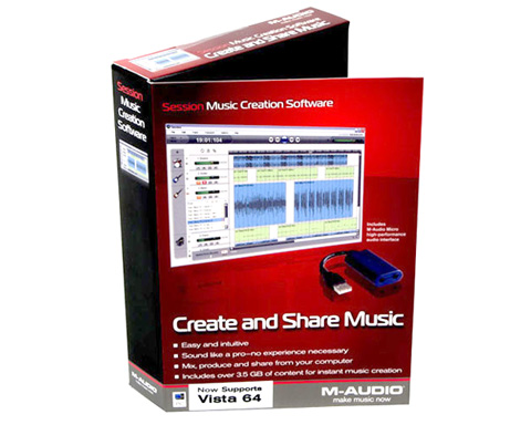 M-Audio Session Music Creation Software w/USB Dongle MP02-00345