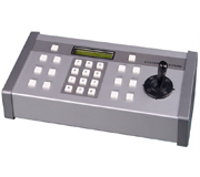 CONTROL KEYBOARD up to 64 Cameras ,PTZ control,LCD Data Display,