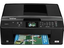 Z Brother MFC-J425W Wireless Inkjet All-in-One Printer with Auto