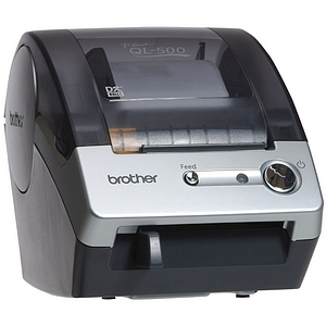 Z SOLD OUT Brother P-Touch QL-500 Label Printer