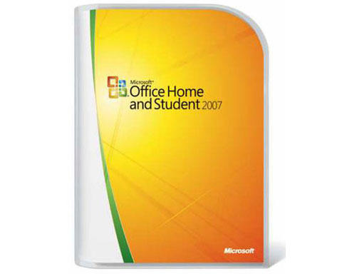 Z Sold out Microsoft Office 2007 Home and Student - 3 Users