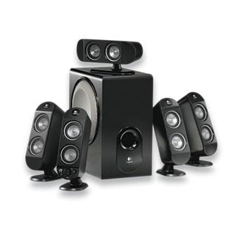 z sold out Logitech X-530 5.1 Speaker System 70W 9701140403