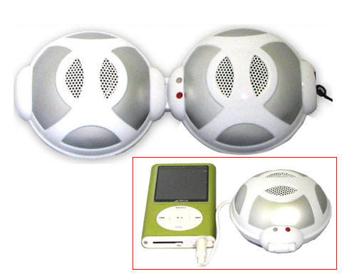 Mini Speaker Mini Hifi MP3, iPod, MP3, CD, Computer & Etc. Recha