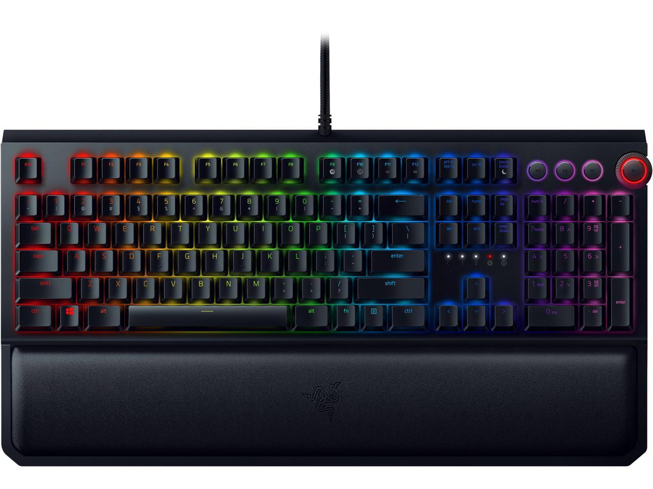 Razer BlackWidow Elite Mechanical Gaming Keyboard: Green Mechani