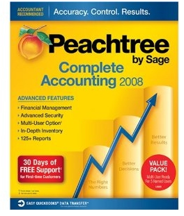 Peachtree by Sage Complete Accounting 2008 Multi User