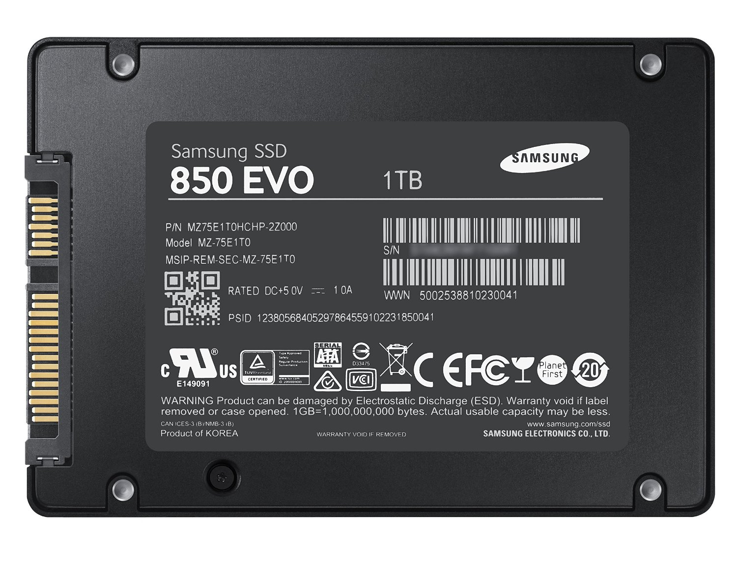 "z out of stock Samsung 840 EVO MZ-7TE500LW 500GB 2.5"" SATA Inter"